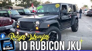Here's What a 2010 Jeep Wrangler Unlimited Rubicon Looks Like in 2019 | Jeeps For Sale