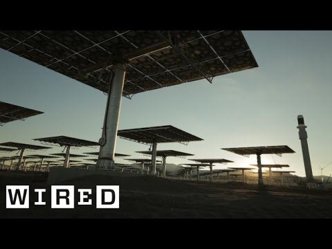 Crescent Dunes Solar Energy Project Part 2: Building the Power Plant-The Window-WIRED