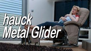 Кресло-качалка hauck Metal Glider - обзор от магазина Boan baby
