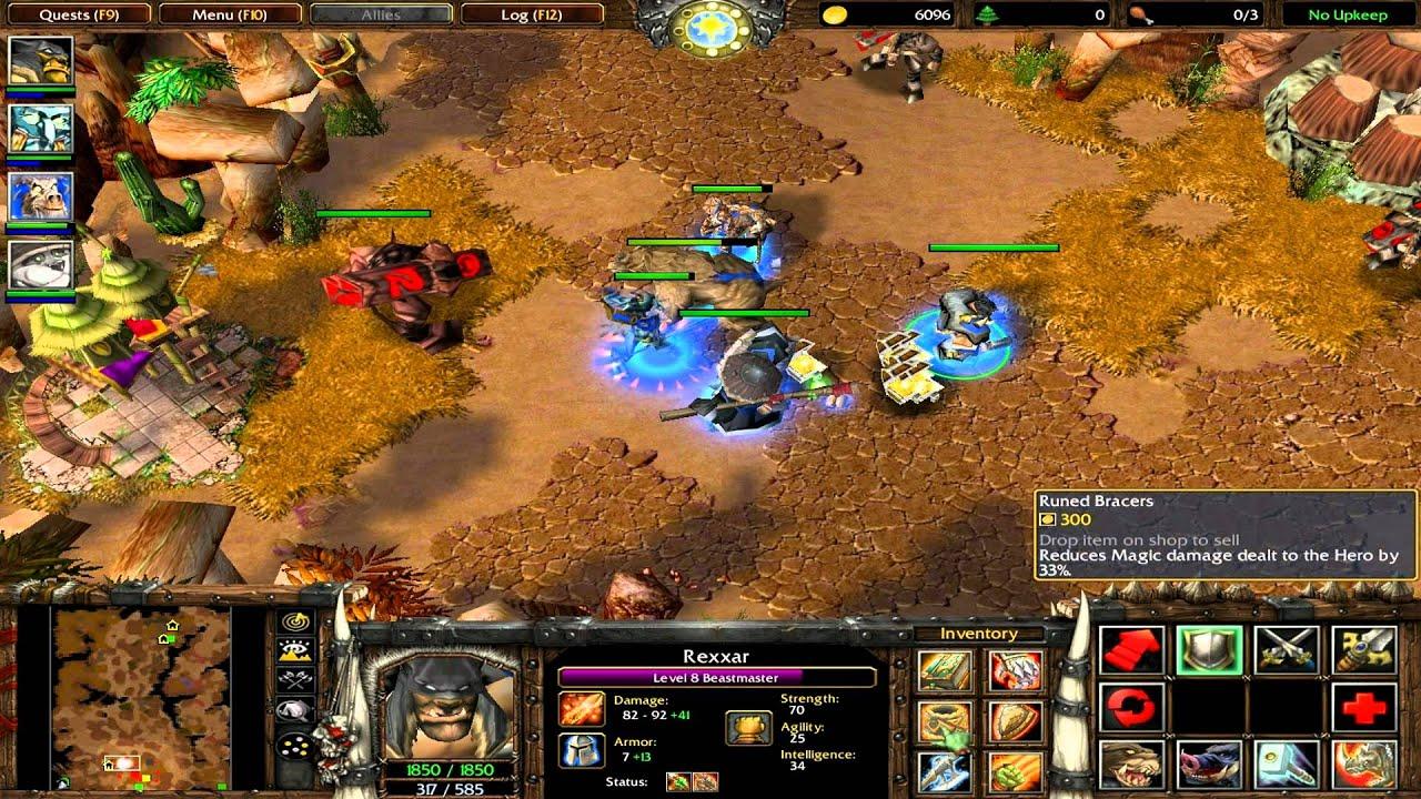 warcraft 3 durotar map