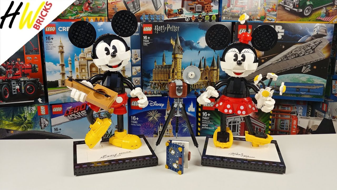 LEGO Disney 43179 Mickey Mouse und Minnie Mouse