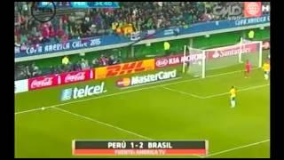 Versus: Análisis del Brasil 2-1 Perú (Copa América Chile 2015)