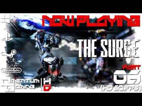 The Surge - (PC) Playthrough |06| Area: Circulation Tower / Boss: Big Sister 1/3  |HD.1080p 60ᶠᵖˢ|