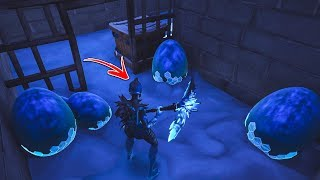 How to get INSIDE DRAGON EGGS ROOM by using this glitch in Fortnite Playground! (Secret Room)
