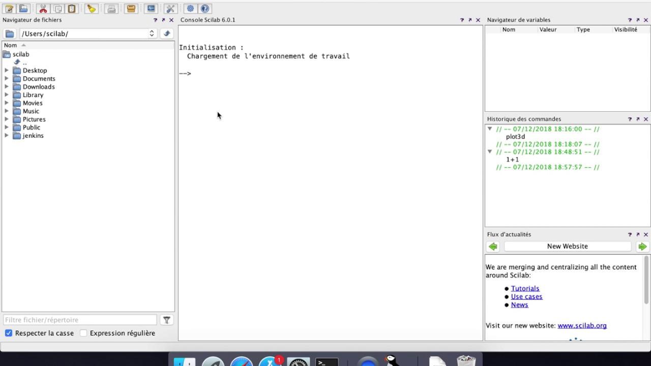 Install Scilab on Mac