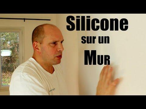 tuto pourquoi comment enlever du silicone sur un mur en. Black Bedroom Furniture Sets. Home Design Ideas