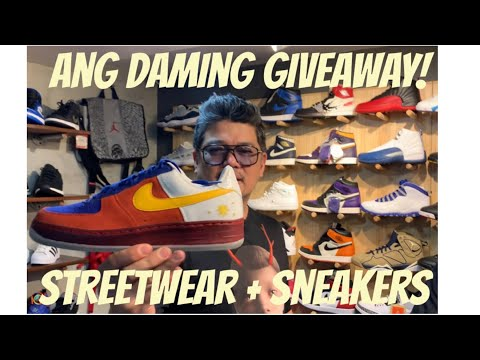 GRAIL DOPE SNEAKERS & SNEAKERS GIVEAWAY! PLUS LEGIT NIKE JORDANS FOR YOUR BABIES!