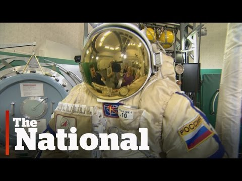 Celebrating 55 years of space travel in Russia's formerly secret training centre