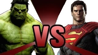 HULK vs SUPERMAN Cartoon Fight Club Episode 4