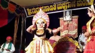 Yakshagana - Pushpa Chandana - Rajesh bhandary