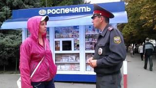 Доставление активистки «Русские пробежки» в полицию Саратова(, 2013-09-17T15:08:05.000Z)