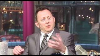 Michael Emerson on Dave Letterman