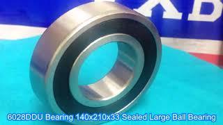 6028DDU Bearing 140x210x33 Sealed Large Ball Bearing