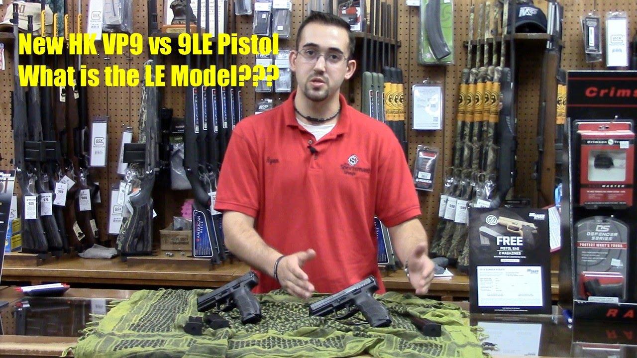 HK VP9 & VP9 LE Pistols Comparison!
