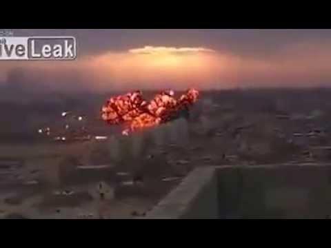 Fighter Jet Crash in Libya