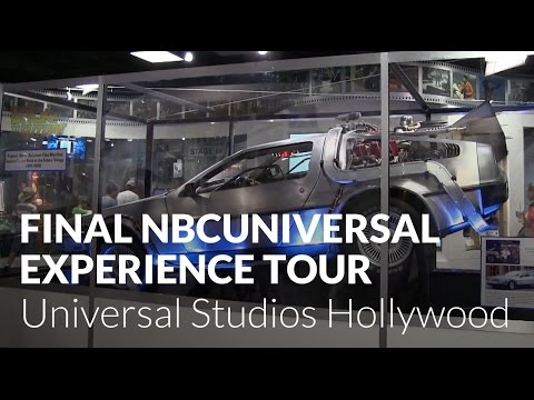 Final NBCUniversal Experience Tour - Universal Studios Hollywood