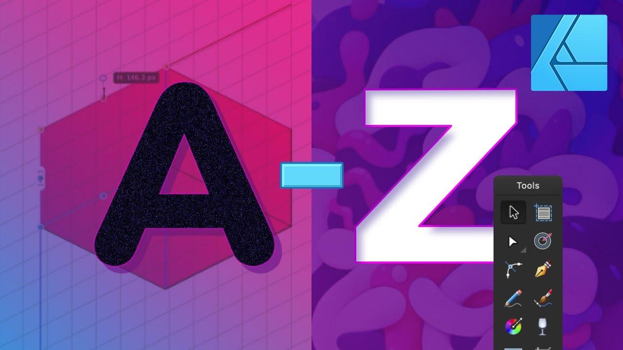 A to Z of Affinity Designer: Tips, Tricks, and Hacks!