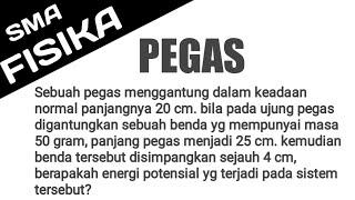 soal energi potensial pegas 3