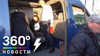 Первые минуты дома - моряки с заблокированного судна «Норд» вернулись в Россию