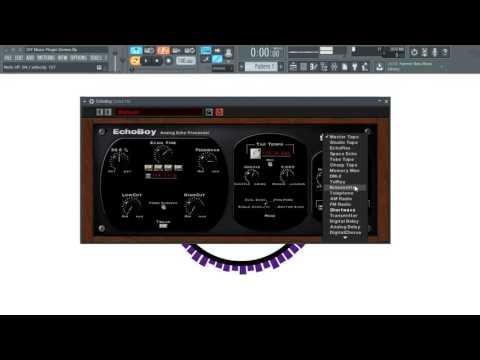 Echoboy by Soundtoys - Audio Plugin Demo