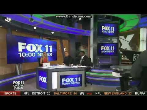 """KTTV Fox 11 """"Sports Wrap"""" open December 3, 2017"""
