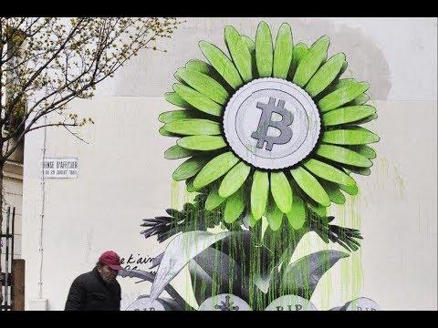 Banksy Bitcoin Graffiti in Paris: RIP Fiat