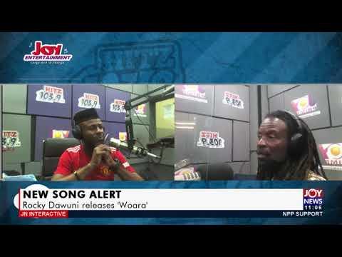 New Song Alert: Rocky Dawuni releases 'Woara' - JoyNews Interactive (20-9-21)