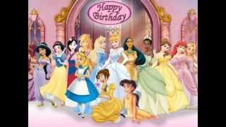 Happy Birthday, Disney Princess Style!