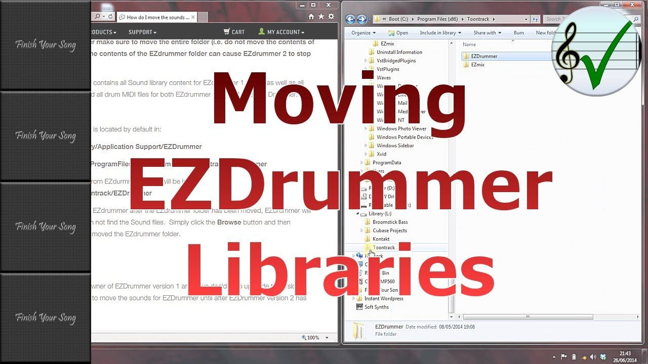 how to move from library to playlist youtube