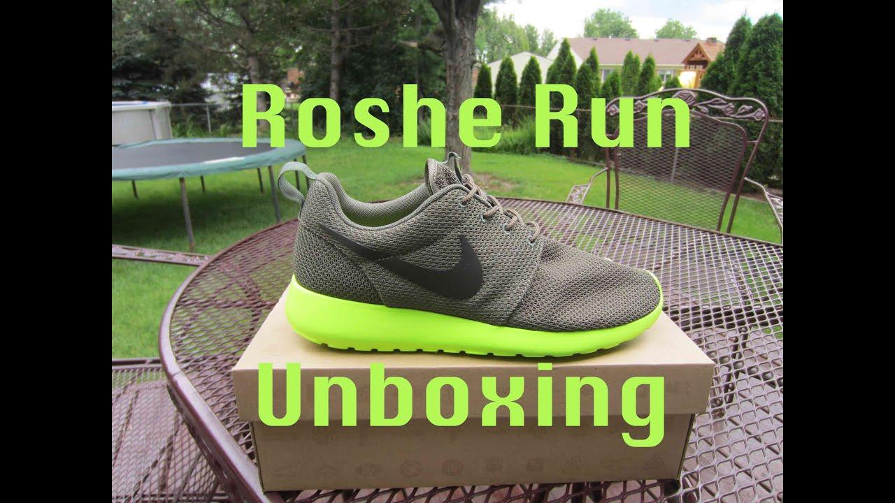 d4bf1bb6d1f2 Nike Roshe Run Unboxing