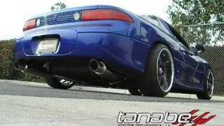tanabe medalion concept g blue 99 3000gt vr4 outside