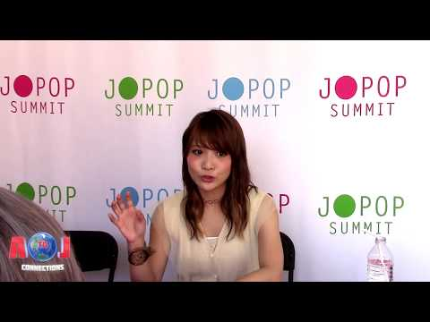 Interview with May'n at J-POP Summit 2017