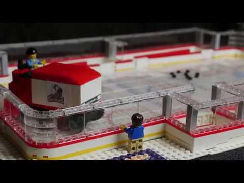 LEGO Stop Motion - I Wanna Drive the Zamboni