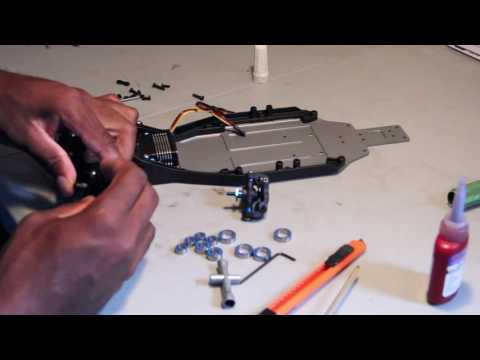 Team Associated RC10B6 Build Front End Pt2