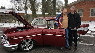 Grandpa Brought To Tears When Grandson Restores Car He Bought Over 50 Years Ago