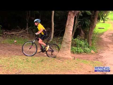 Mountain Bike Race At Arboretum, Jan 13 2013