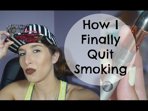 How I Quit SMOKING CIGARETTES | Vaping/ Vape Pen/ E.Cigarette