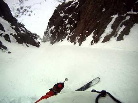 Maine Ski Experience - Chimney Couloir - Mt. Kahtahdin