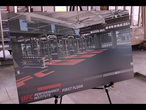 A tour of the new UFC Corporate Campus and Performance Institute in Las Vegas