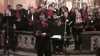 Schola Drahanovice Koncert Noc kostelů Hněvotín 2013