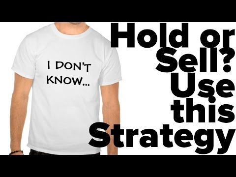 Stock Trading Quick Tip: Hold or Sell? Use this Strategy‏