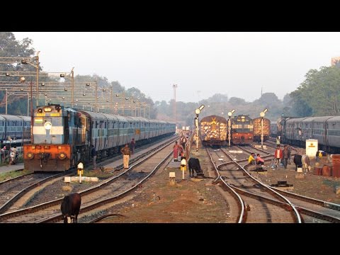 "The Massive "" JABALPUR CURVE "" - Indian Railways !!"