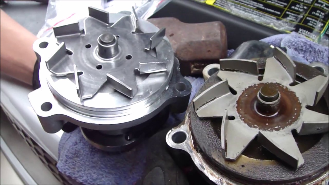 hight resolution of f150 water pump and thermostat replacement