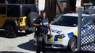 New Zealand news  |  Armed police raid Christchurch property