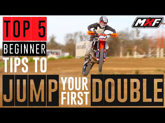 Top 5 Beginner Tips to Jump Your First Double on a Dirt Bike!!