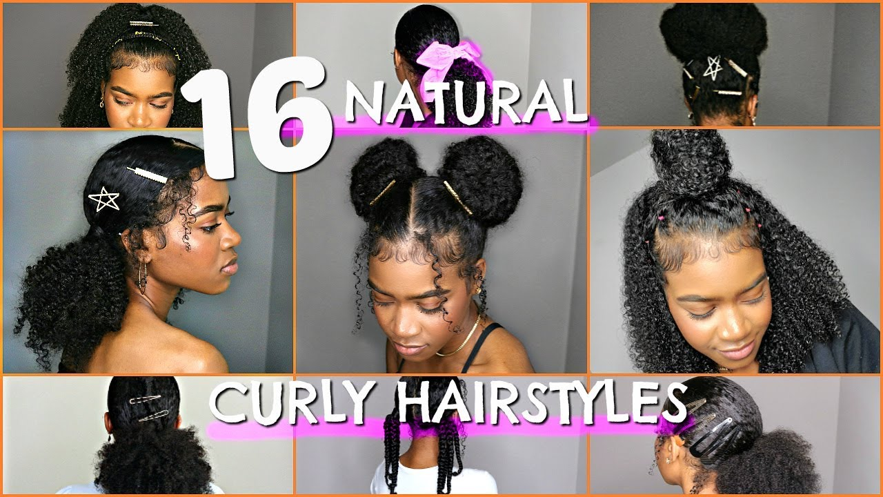 16 Best Back To School Natural Curly Hairstyles Buns Protective