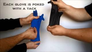 Latex Gloves vs  Nitrile Gloves