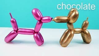 CHOCOLATE balloon dog How To Cook That Ann Reardon
