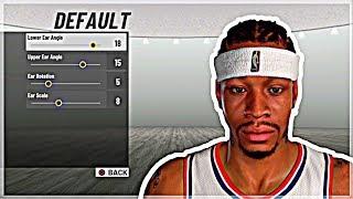 Wie Machen Sie Ihre MyPlayer GENAU Wie Allen Iverson NBA 2K19 | AI Gesicht Erstellung & Bauen