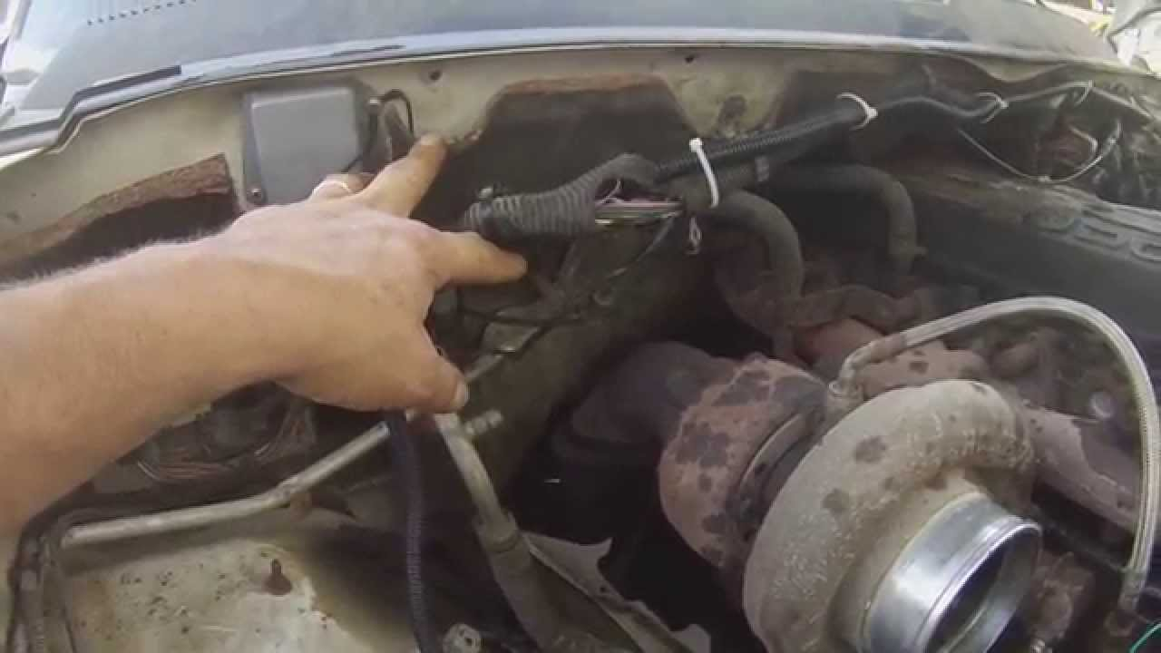 cummins 59 wire harness precaution  YouTube